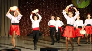 """Золотой микрофон - Итальянский танец """"Тарантелла Неаполитано"""""""