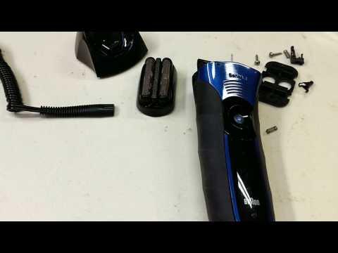 Braun Shaver 340s-4 teardown