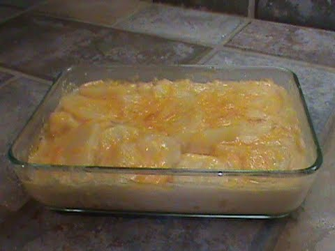 Quick Scalloped Potatoes For Two