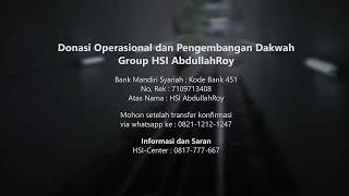 Mulazamah HSI – Kitab Tauhid Pertemuan 10