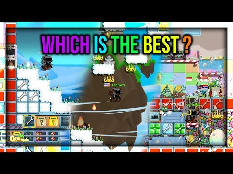 REVIEW WEATHER MACHINE TERBARU + LEHNWA GUILD ?!?! - Growtopia Indonesia