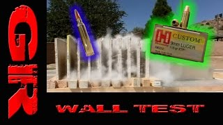 How Many Walls Will A 556 And 9mm Penetrate