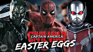 Captain America: Civil War - All Easter Eggs, Cameos And References!