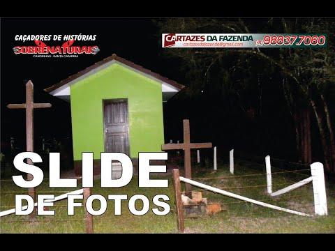 SLIDE DE FOTOS CEMITÉRIO