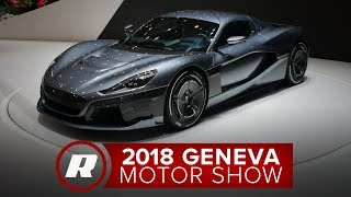 1,900 HP Rimac Concept Two EV shakes the earth at the 2018 Geneva Motor Show
