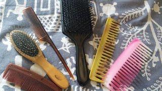 Basic Hair Combs/ Brushes For Beginner
