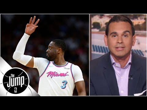 Jorge Sedano: Dwyane Wade ending career right way with one more Heat season | The Jump | ESPN