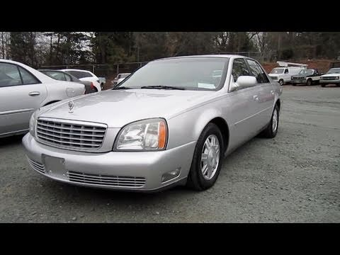 2003 Cadillac Deville Start Up, Engine, and In Depth Tour