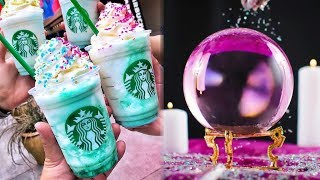 Starbucks NEW Crystal Ball Frappuccinos MORE Magical Than Unicorn Frapps?!