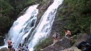 Водопад Пещерка,  Залесовский район,  Алтайский край