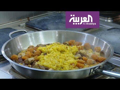 العرب اليوم - شاهد: طريقة تحضير طبق البيلاف التقليدي من داخل المطبخ الأذري