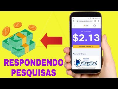 NOVO SITE - Como Ganhar Dólares no Paypal Respondendo Pesquisas (Money no paypal)