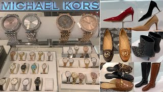MICHAEL KORS WATCHES & SHOES ~ Shop With Me 2019