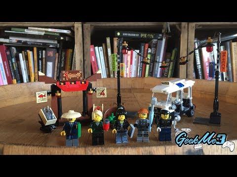 Vidéo LEGO Ninjago 70607 : La poursuite dans la Ville