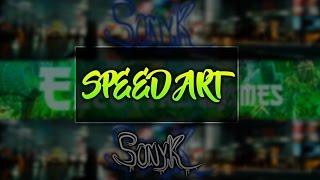 SPEED ART♥ | Banner para Electtro Games♚| Hago Banners GRATIS |Sonyk