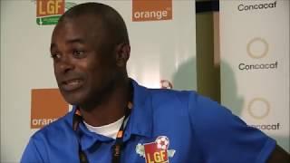 Conférence de presse après Guadeloupe - Martinique (0-1)