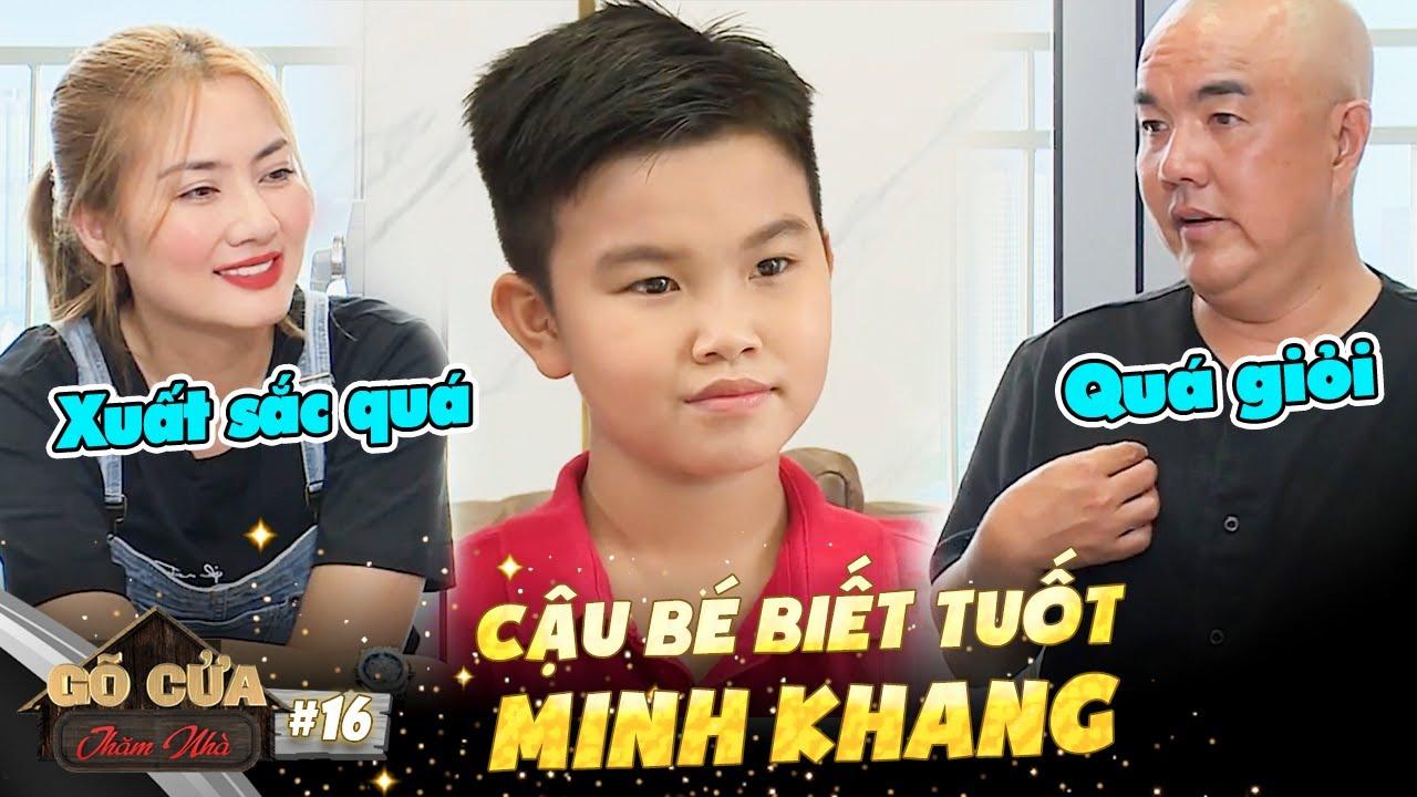 Gõ Cửa Thăm Nhà Tập 16 |Được TRIỆU NGƯỜI HÂM MỘ, gia đình cậu bé Minh Khang khiến Ngọc Lan bật khóc