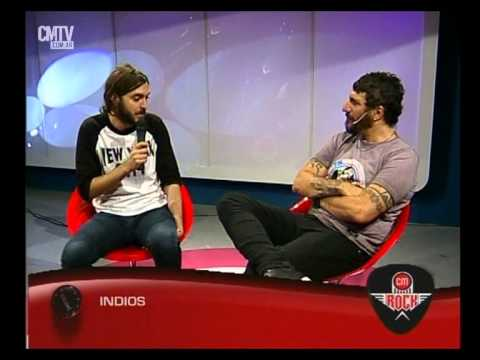 Indios video Entrevista CM Rock - Abril 2015