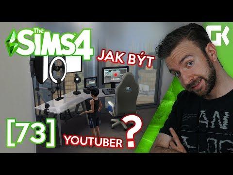 JAK BÝT YOUTUBER? | The Sims 4 #73