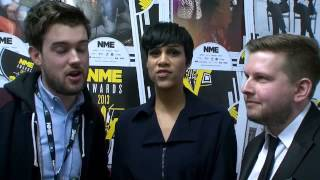 Fresh Meat Stars On Winning Best TV Show At The NME Awards 2013 Backstage