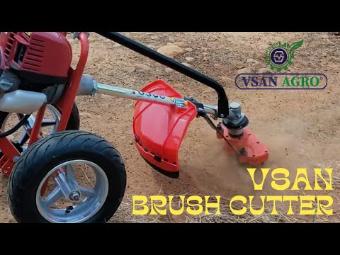 Walk Behind Brush Cutters