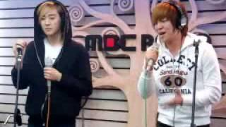 """091210 U-KISS Soohyun & Kevin - """"이 노래"""" (This Song) @ Starry Night"""