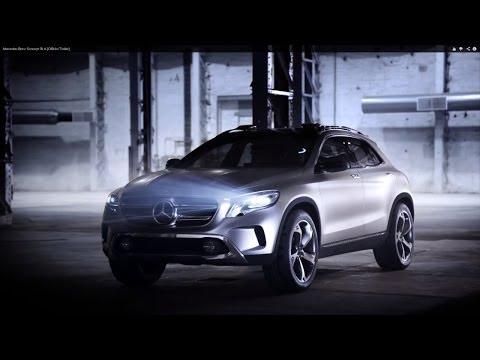 Видео Mercedes GLA