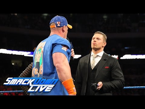 John Cena and The Miz engage in a war of words on