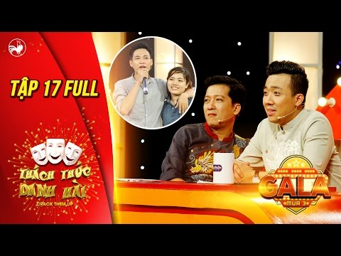 Hình ảnh Youtube -  Thách thức danh hài 3|tập 17 full hd(gala 3): Trấn Thành cười liên tục trước hot boy trà sữa Tấn Lợi