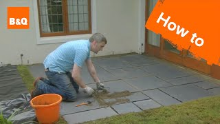 How to lay a patio - Video Youtube
