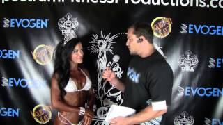 Jessica Arevalo 2nd Place Winner 2014 NPC NOR CAL OPEN PRO Bikini