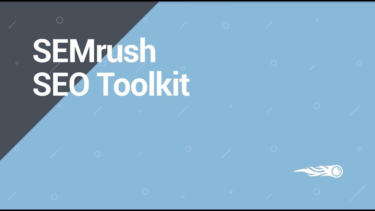 Semrush Toolkits image 1