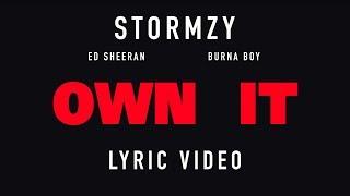 Stormzy   Own It Feat. Ed Sheeran & Burna Boy (Letra Traduzida)