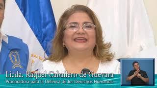PDDH, Llamado a la NO VIOLENCIA el Día de las Elecciones