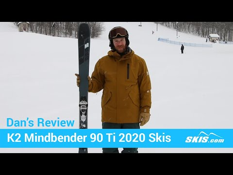 Video: K2 Mindbender 90 TI Skis 2020 5 45