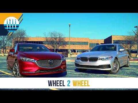 WHEEL 2 WHEEL | Mazda6 vs BMW 530i - David and Goliath