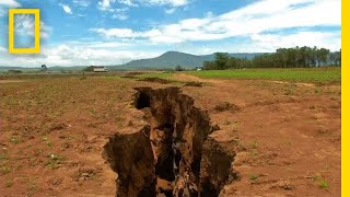 What Made the Ground Split Open in Kenya? | National Geographic