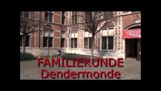 preview picture of video 'FAMILIEKUNDE Vlaanderen regio DENDERMONDE Erfgoeddag 2013'