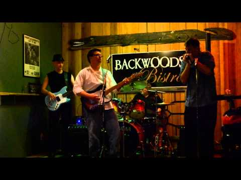 130705 Brett Wellman & The Stone Cold Blues Band at Backwoods Bistro in Tallahassee
