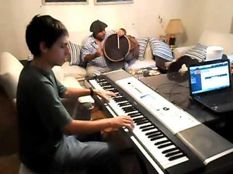 Viene Clareando - A.Yupanqui - ( piano y bombo)