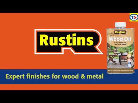 Rustins Quick Dry Exterior Wood Oil