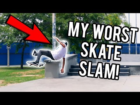 MY WORST SKATE SLAM! | California Vlog #2 (Westchester, Stoner, Santa Monica Courthouse Ledges)