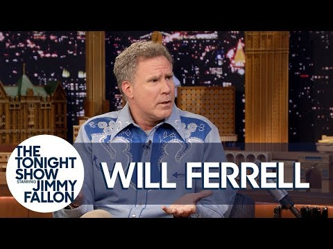 Will Ferrell Channeled Ron Burgundy for an Interview with Roger Federer