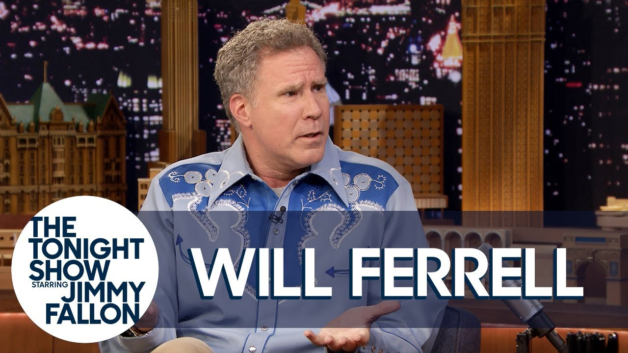 Will Ferrell Channeled Ron Burgundy for an Interview with Roger Federer thumbnail