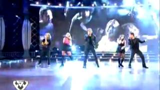 """Showmatch 2011 - Los Teen Angels cantan """"Que llegue tu voz"""""""