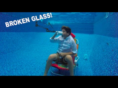 HOW TO HOLD YOUR BREATH UNDER WATER (GONE WRONG??)
