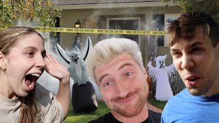 SURPRISING ROOMMATES WITH HALLOWEEN HOME MAKEOVER!!