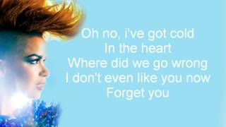 Eva Simons - I Don't Like You (Lyrics)