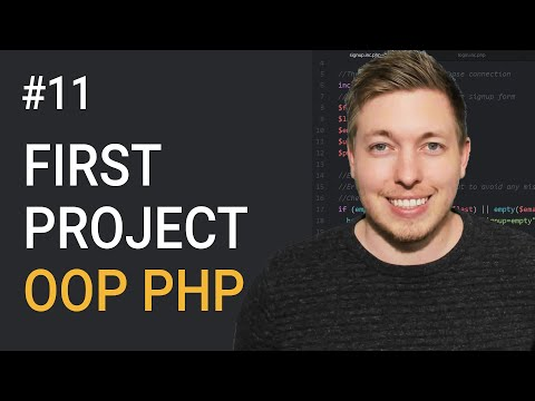 11: Our First Exercise Using Object Oriented PHP Programming | OOP PHP Tutorial | Learn OOP PHP