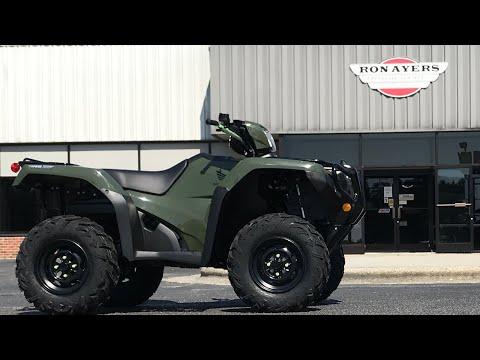 2021 Honda FourTrax Foreman Rubicon 4x4 Automatic DCT in Greenville, North Carolina - Video 1
